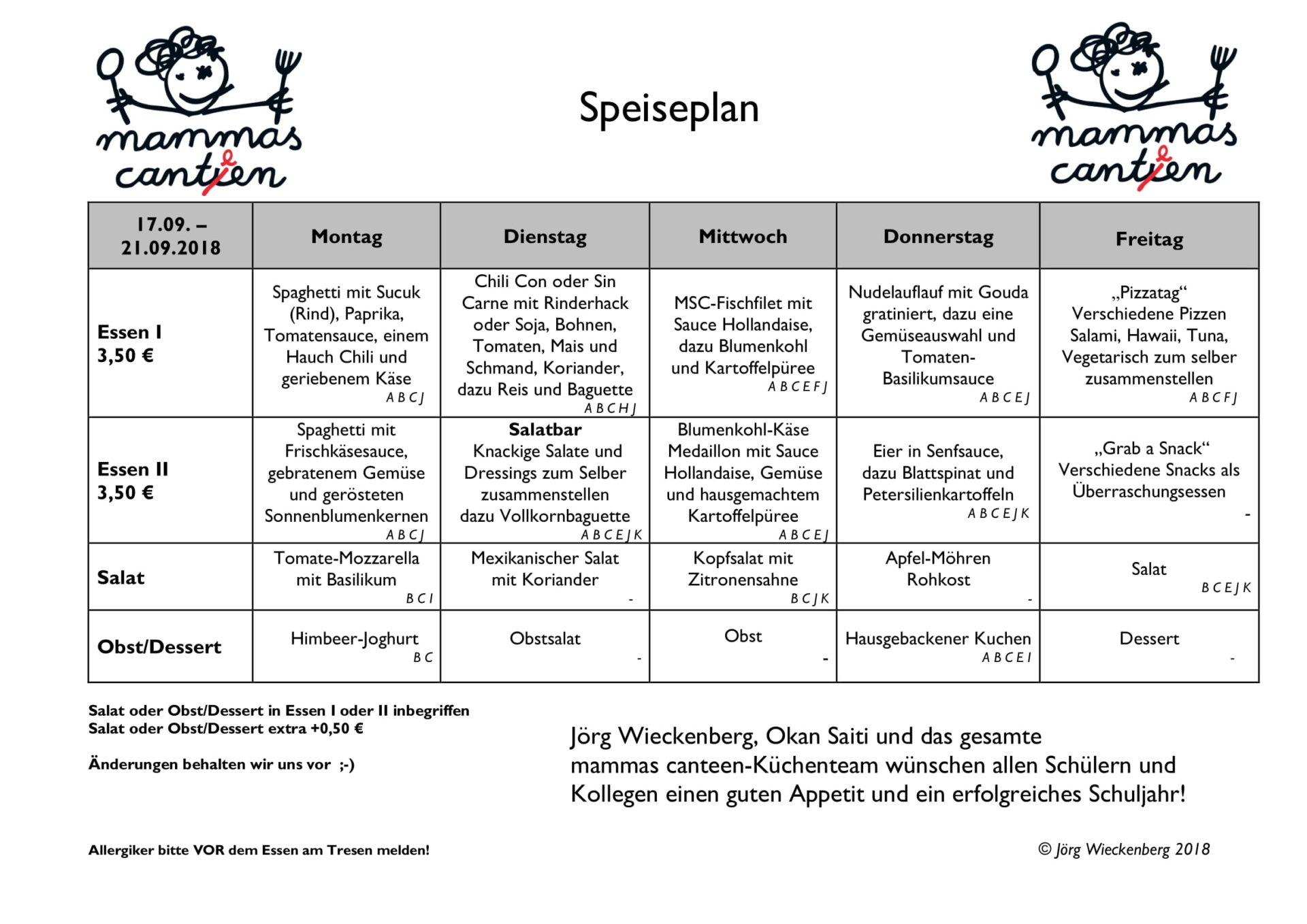 mammas canteen Speiseplan 17.09. -21.09.2018-1