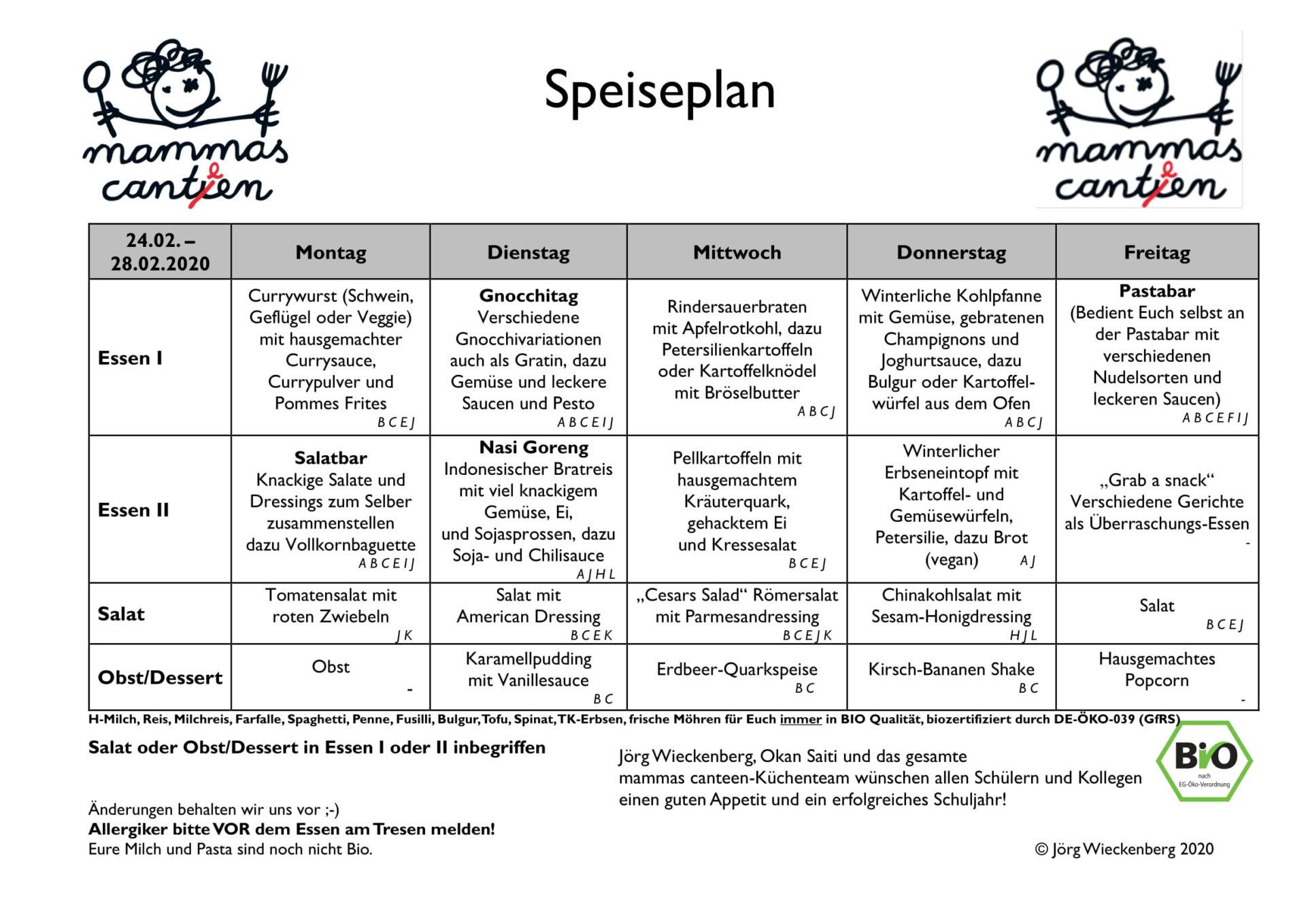 mammas canteen Speiseplan 24.02. 28.02.2020-1